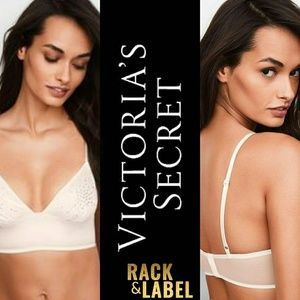 🔥❤ Victoria's Secret Embellished Satin Bralette